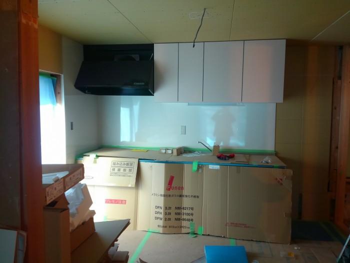 キッチンを新しく取換しました
